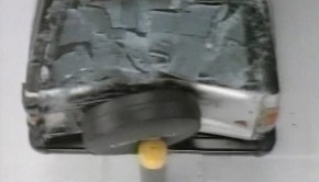 1996-IIHS-SUV-Bumper-Crash-Test