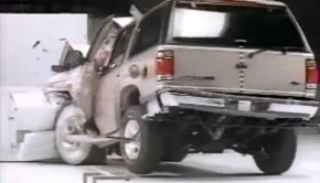 1996-IIHS-SUV-Offset-Crashtest