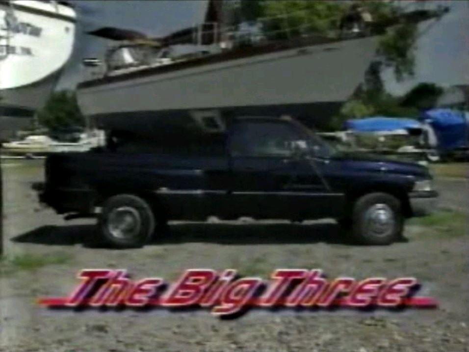 1996 FullSize Dually Pickup Truck Comparison Test Drive