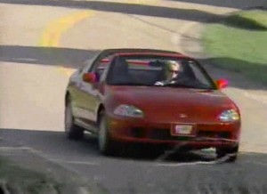 1996 Honda Del Sol vs Mazda MX5 Miata Comparison Test Drive