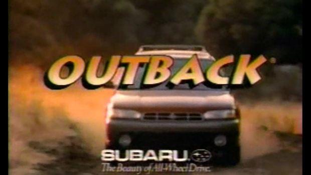1996 Subaru Outback Commercial Paul Hogan