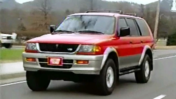 Mitsubishi Montero Sport X on 2001 Mitsubishi Montero Sport
