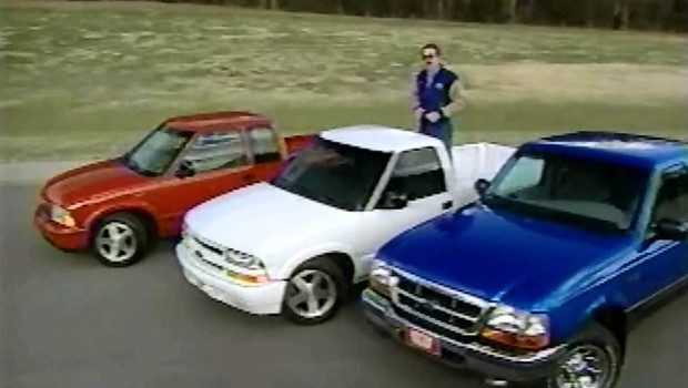 New Ford Ranger Cost >> » 1998 Chevrolet S-10 vs GMC Sonoma vs Ford Ranger Comparison Test Drive