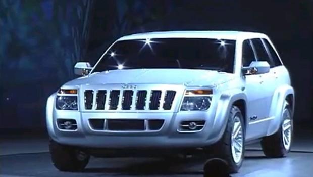 187 1999 Jeep Commander Concept Car
