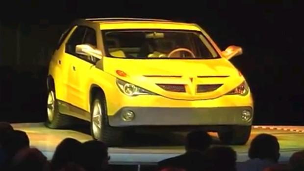 187 1999 Pontiac Aztek Concept Car
