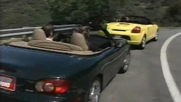 2001 Mazda Miata vs Toyota MR2 Comparison Test Drive