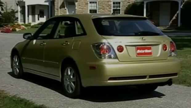 » 2002 Lexus IS300 SportCross Test Drive