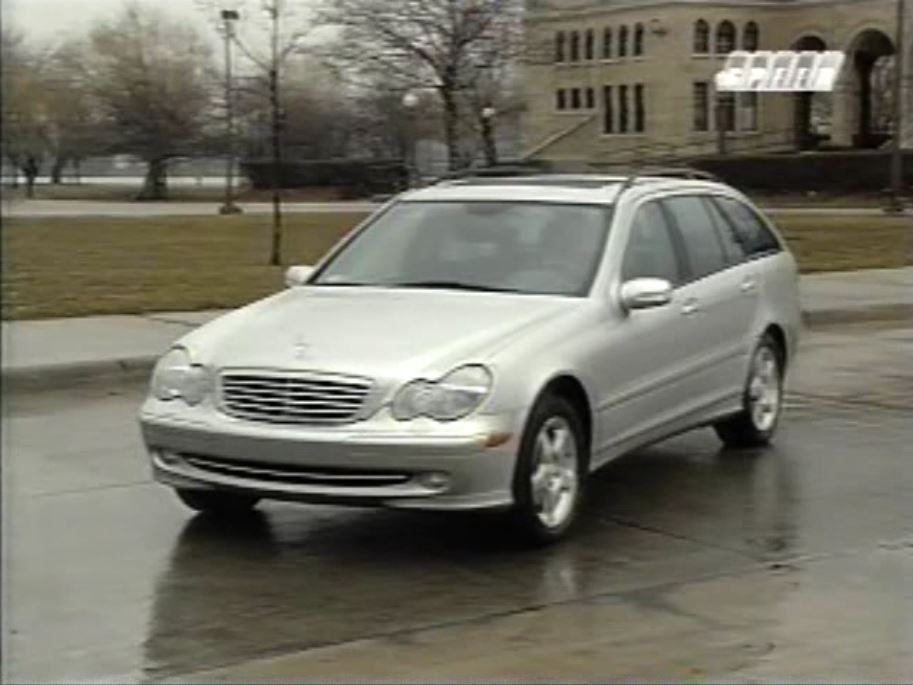 2002 mercedes benz c class wagon test drive. Black Bedroom Furniture Sets. Home Design Ideas