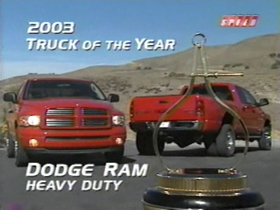 Truck Of The Year >> 2003 Motor Trend Truck Of The Year