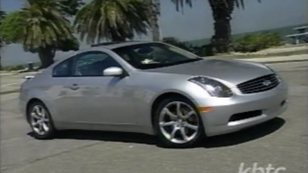 2003 Infiniti G35 Coupe Test Drive