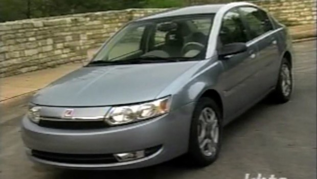 2003 Saturn Ion Test Drive