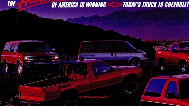 Lexus Is 350 >> » 1990 Chevrolet Truck Ad – The Sharper Image