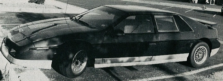 187 1987 Four Seat Fiero
