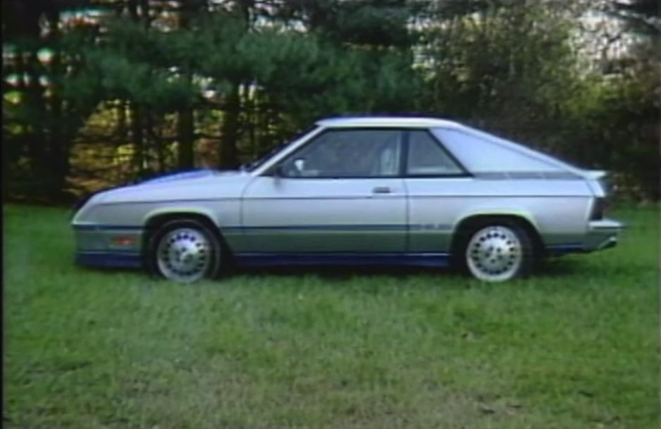 1985 Dodge Shelby Charger Test Drive