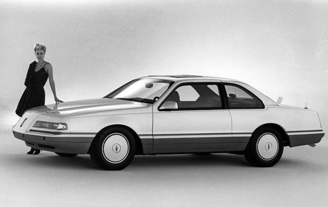 1983 Lincoln Continental Concept 100 Concept Car