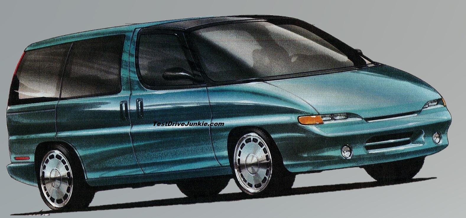 1992 the general s van plan test drive junkie