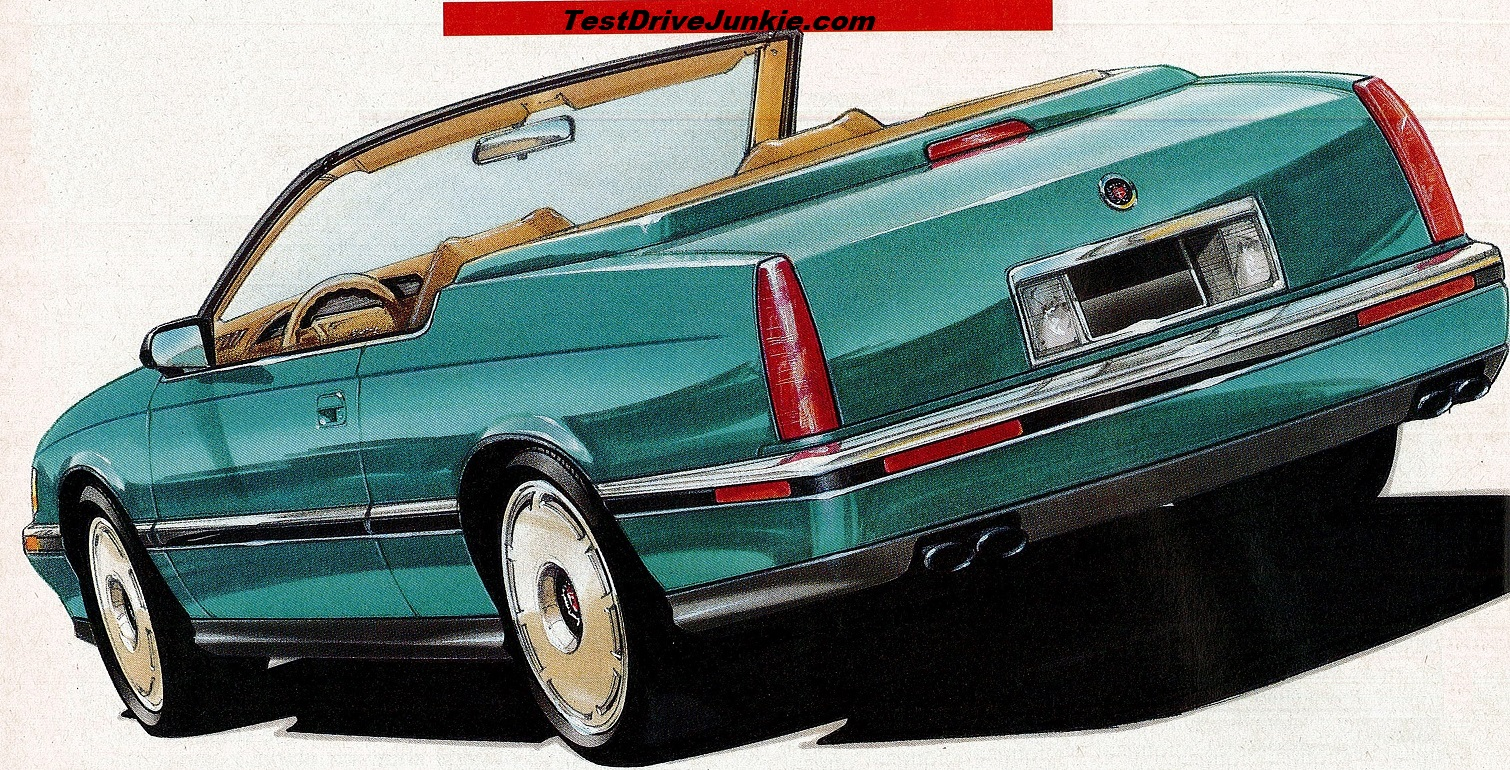 1992 Cadillac Shows Off Its Eldorado Convertible